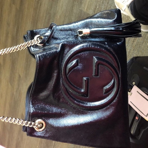 Gucci Handbags - Blk GUCCI Soho shoulder bag